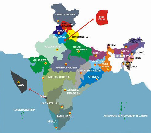 States of India  India States  List of Indian States  About