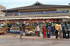 Shops at kukke subramanya